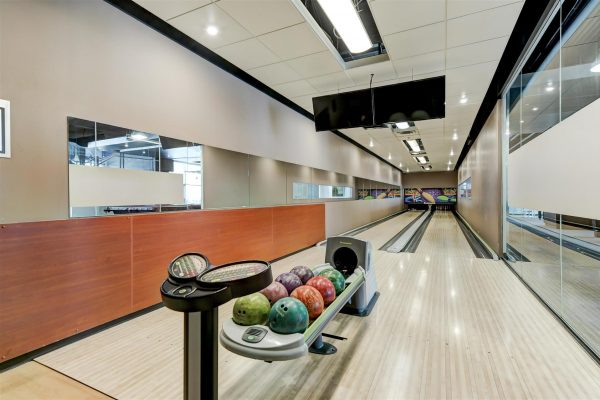 Building Amenities - Bowling Alley